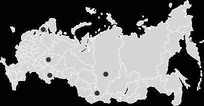 Карта сбора Чаги березовой в России